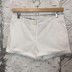 Land N sea white shorts